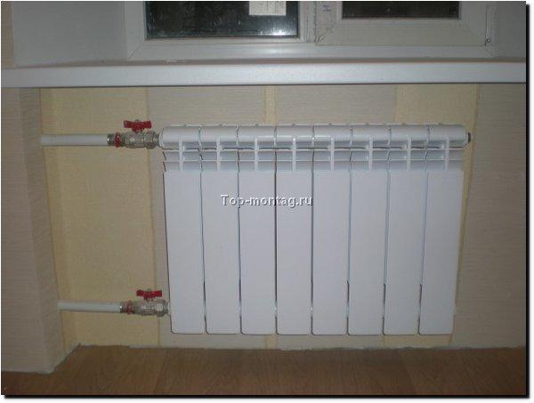 Отопление в квартире фото